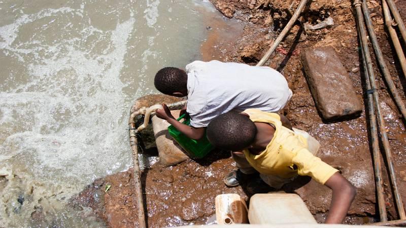 24 Horas - Unicef alerta de sobre la falta de agua potable en países en conflicto - Escuchar ahora