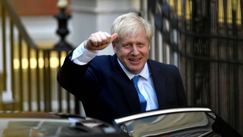 Boletines RNE - Boris Johnson, nuevo primer ministro de Reino Unido - Escuchar ahora