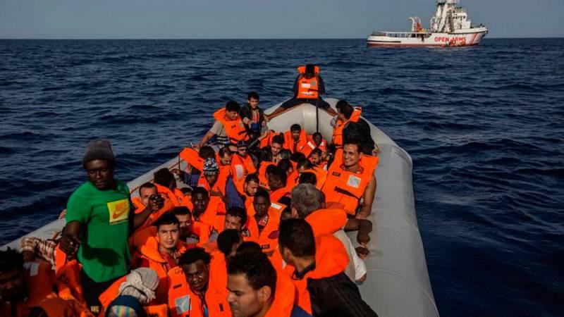 14 horas - El Open Arms rescata a otros 69 migrantes en el Mediterráneo - Escuchar ahora