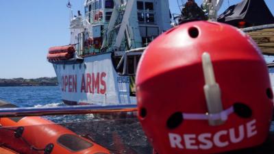 14 Horas - Open Arms: incertidumbre tras cinco días de espera en medio del mar - Escuchar ahora