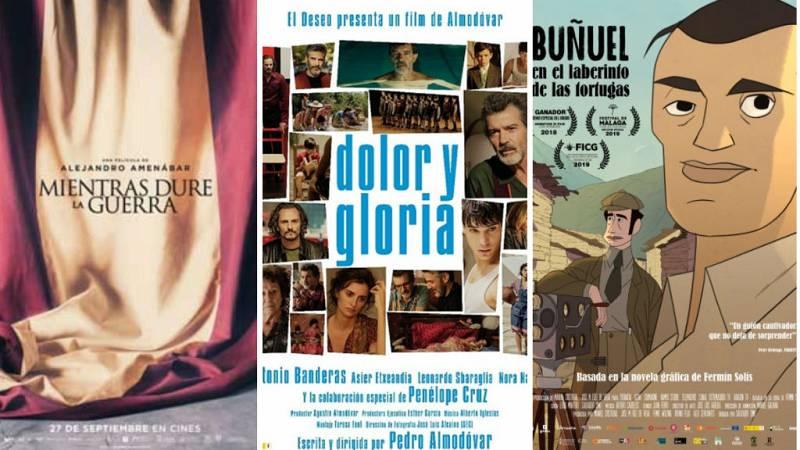 Boletines RNE - Almodóvar, Amenábar y Simó, pelearán por el Óscar 2020 - Escuchar ahora