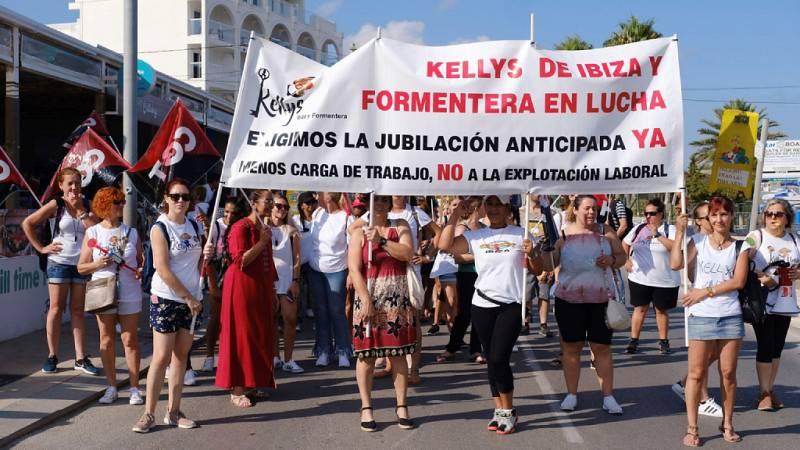 Las Kelly's protestan en toda España por su precariedad laboral - Escuchar ahora