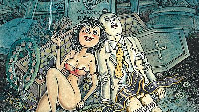 Viñetas y bocadillos - Kim & Jardí 'Rigor Mortis' - 26/08/19 - Escuchar ahora