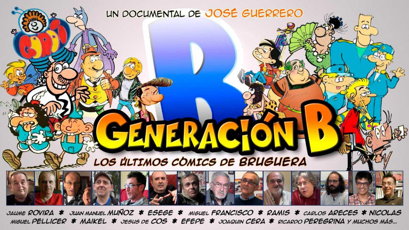 Viñetas y bocadillos - Documental 'Generación B' - 28/08/19 - Escuchar ahora