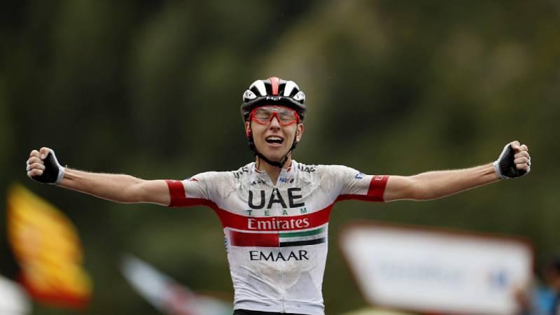 Tadej Poga¿ar se lleva la novena etapa de La Vuelta - Escuchar ahora