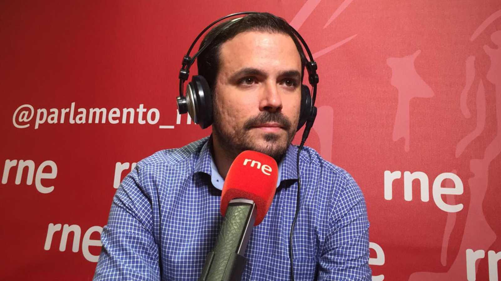 """Las mañanas de RNE con Íñigo Alfonso - Garzón (IU): """"El PSOE quiere conseguir los apoyos por la vía del chantaje"""" - Escuchar ahora"""