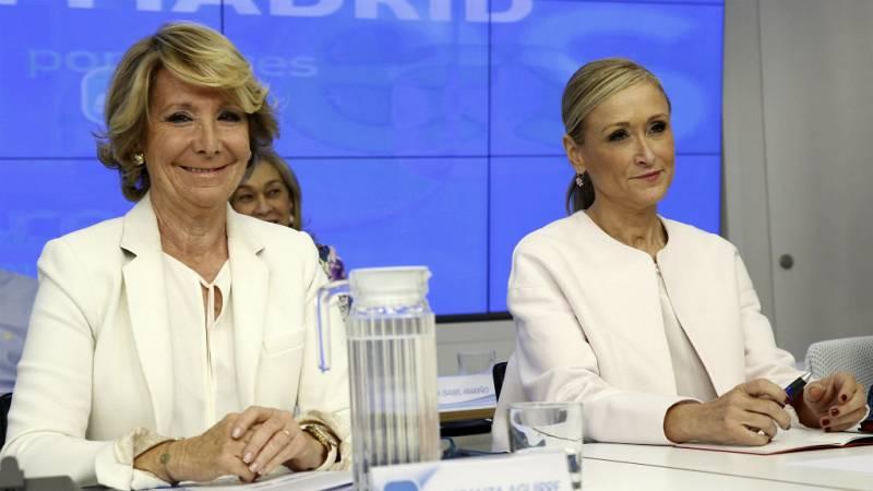 Boletines RNE - Aguirre y Cifuentes, imputadas por la trama 'Púnica' - Escuchar ahora