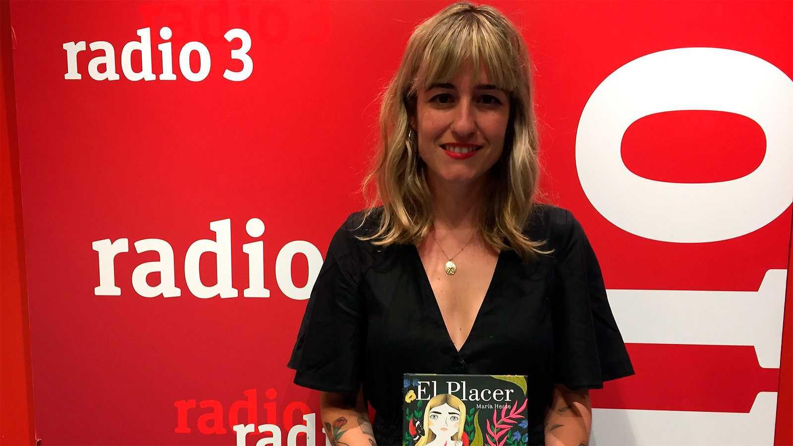 """Efecto Doppler - María Hesse nos invita a conocer """"El placer"""" - 04/09/19 - escuchar ahora"""
