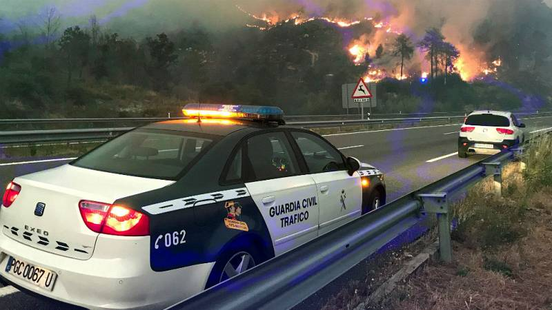 Las mañanas de RNE con Íñigo Alfonso - Una veintena de fuegos, la mayoría intencionados, se registran en Galicia - Escuchar ahora