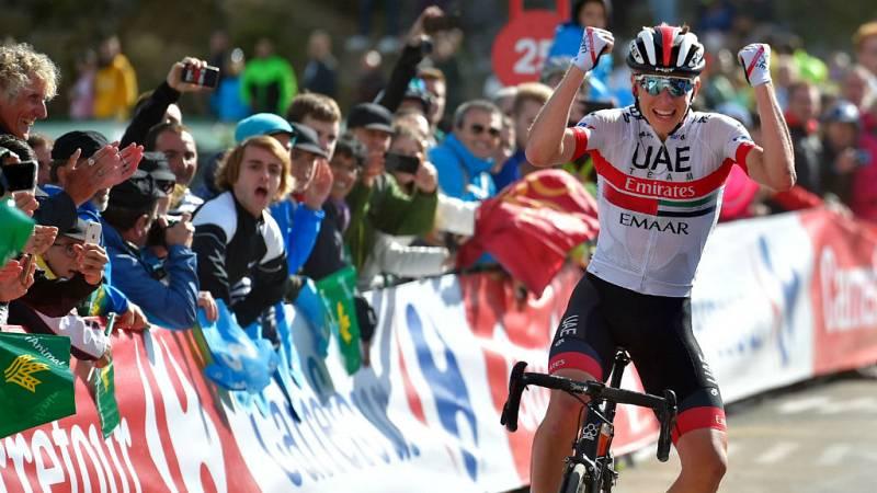 Vuelta a España 2019 | Etapa 13: Pogacar suma su segunda victoria en Los Machucos