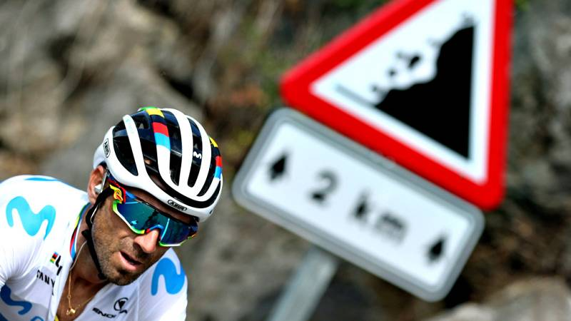 """La Vuelta - Valverde: Todo está muy igualado, 22 segundos es nada"""" - Escuchar ahora"""