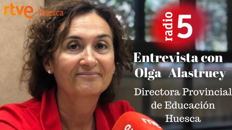 Olga Alastruey Directora Provincial de Educación de Huesca - escuchar ahora
