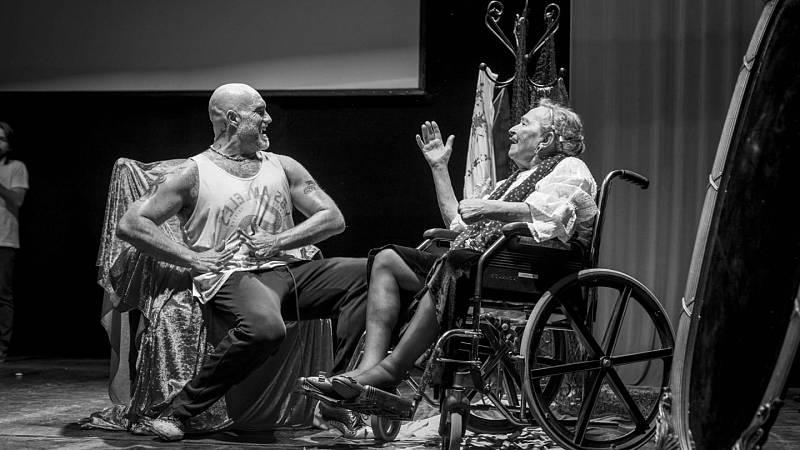 Solamente una vez - Paco Mora bailaor flamenco contra el Alzheimer - 10/10/09