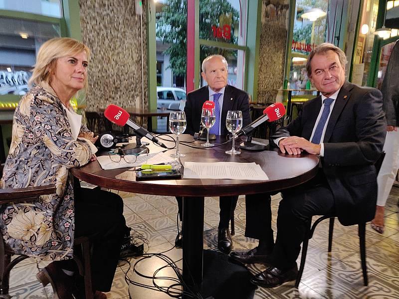 Cafè d'Idees: José Montilla i Artur Mas