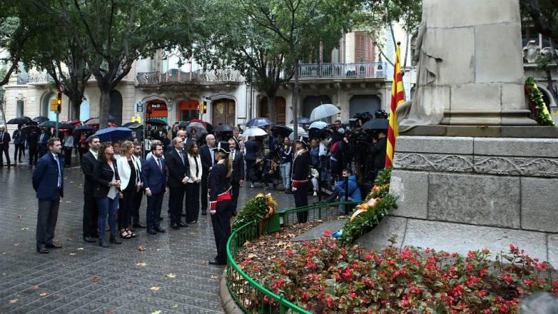 Boletines RNE - La Diada sigue dividiendo a los partidos en Cataluña - Escuchar ahora