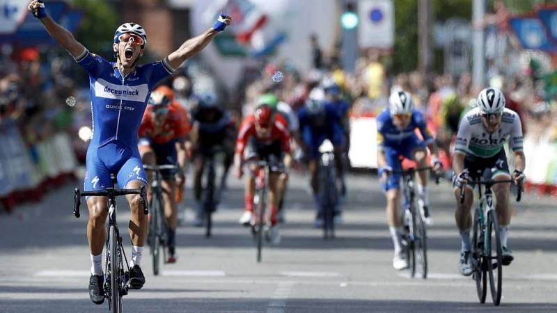 Un final emocionante en la etapa 17ª  de la Vuelta a España - Escuchar ahora