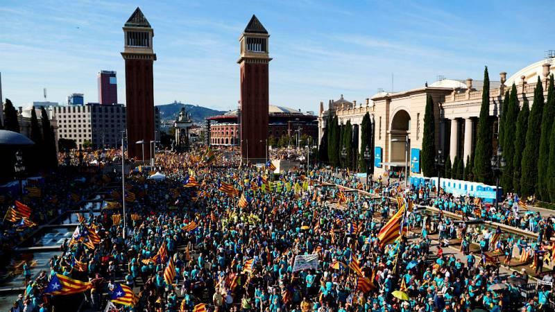 24 horas - La manifestación de la Diada, con menos participación que otros años - Escuchar ahora