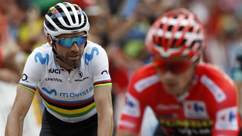 """Alejandro Valverde: """"Se está viendo que Roglic está muy fuerte"""" - Escuchar ahora"""