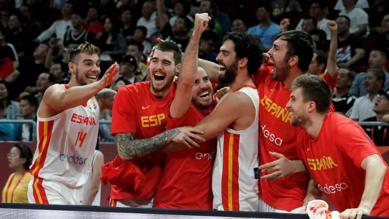 14 horas - España luchará por el oro en la final del Mundial de Baloncesto - escuchar ahora