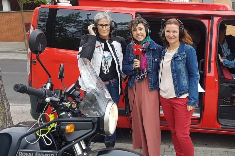 """Todo Noticias - Mañana - """"La motera"""": 37.000 kilómetros por la igualdad - Escuchar ahora"""