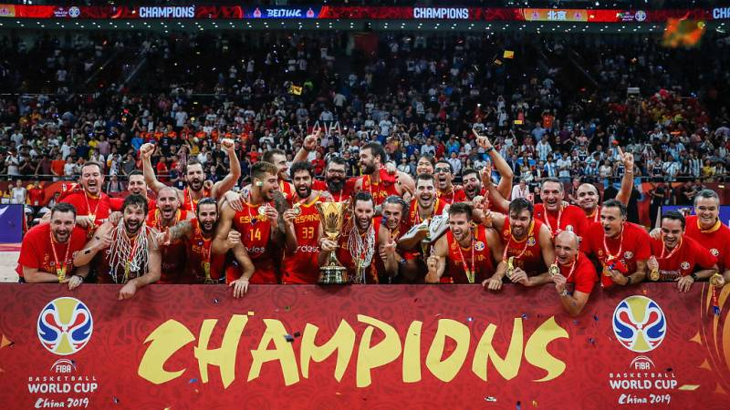 24 horas fin de semana - 20 horas - Los campeones del mundo de baloncesto celebrarán este lunes en España su segundo título - Escuchar ahora