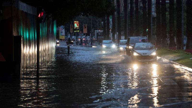 24 horas - Agua y granizo en Salamanca, últimos coletazos del temporal - Escuchar ahora