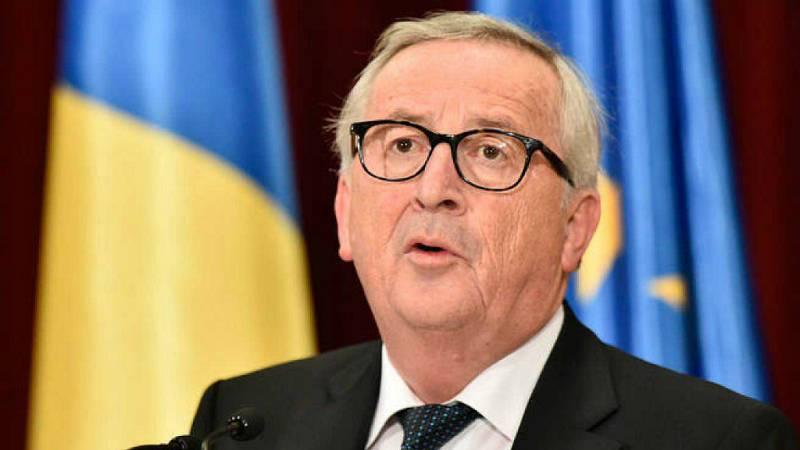 Boletines RNE - Juncker reitera que el riesgo de un brexit sin acuerdo es muy real - Escuchar ahora