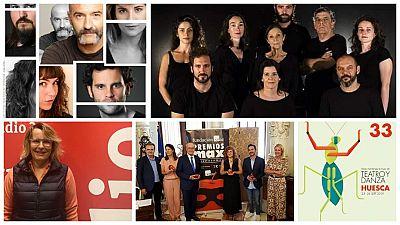 La Sala - Estrenos en Alicante y Toledo, Premios Max en Málaga, Natalia Menéndez y Feria de Teatro y Danza en Huesca - 22/09/19 - escuchar ahora