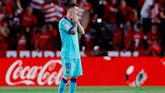 Tablero deportivo - Ni con Messi carbura el F.C. Barcelona