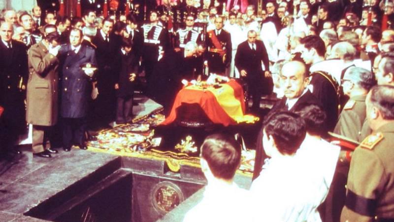 Boletines RNE - El entierro del dictador en 1975 - Escuchar ahora