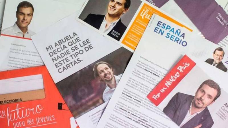 Las mañanas de RNE con Íñigo Alfonso - Se multiplica el número de españoles que no quiere propaganda electoral - Escuchar ahora