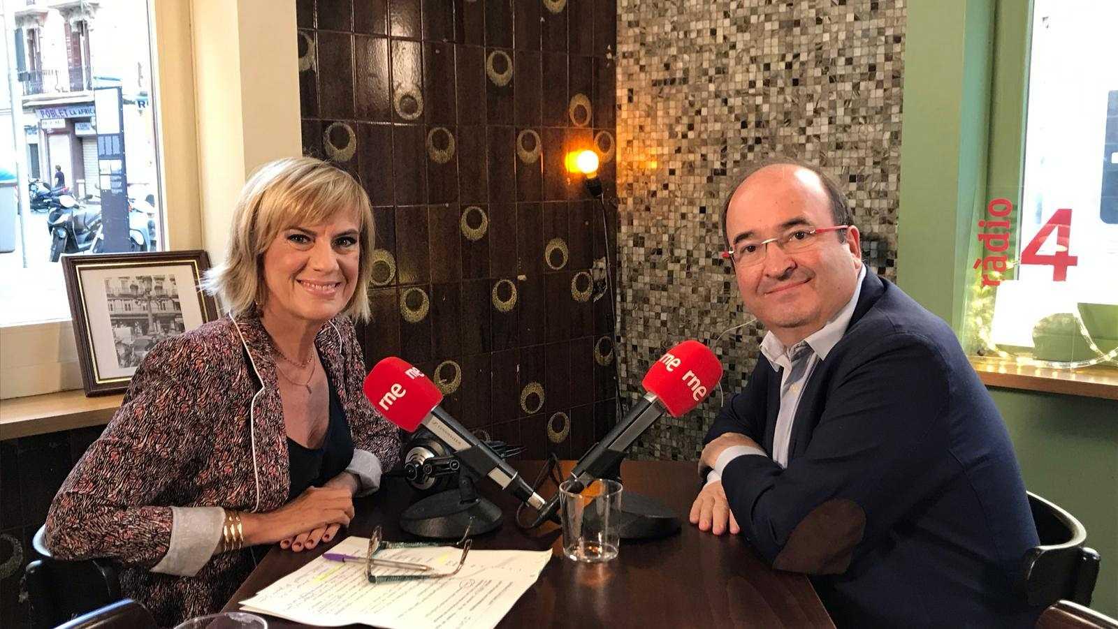 Gema Nierga entrevista Miquel Iceta
