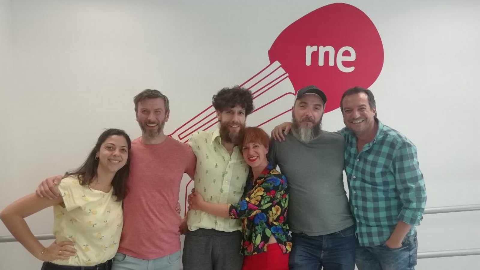 La sala - Voadora: Marta Pazos, Hugo Torres, José Díaz y Fernando Epelde - 28/10/19 - Escuchar ahora