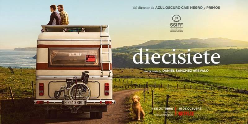 Diecisiete el reencuentro  del cine con Daniel Sánchez Arévalo