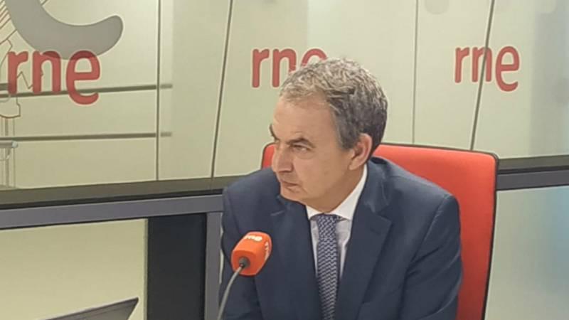 """Las Mañanas de RNE con Íñigo Alfonso - Zapatero: """"Seamos prudentes con la gran coalición entre PP y PSOE"""" - Escuchar ahora"""