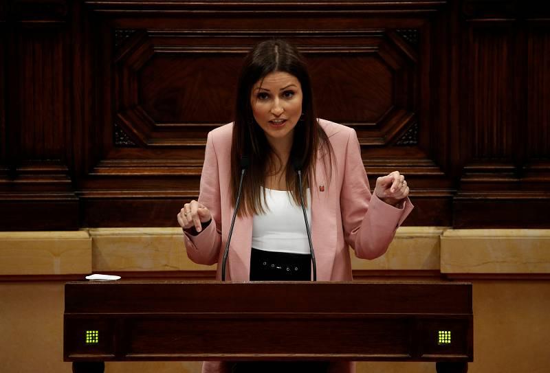 """14 horas - Lorena Roldán (Cs): """"Apoyar la moción de censura es un imperativo moral porque Torra jalea a los violentos"""" - Escuchar ahora"""