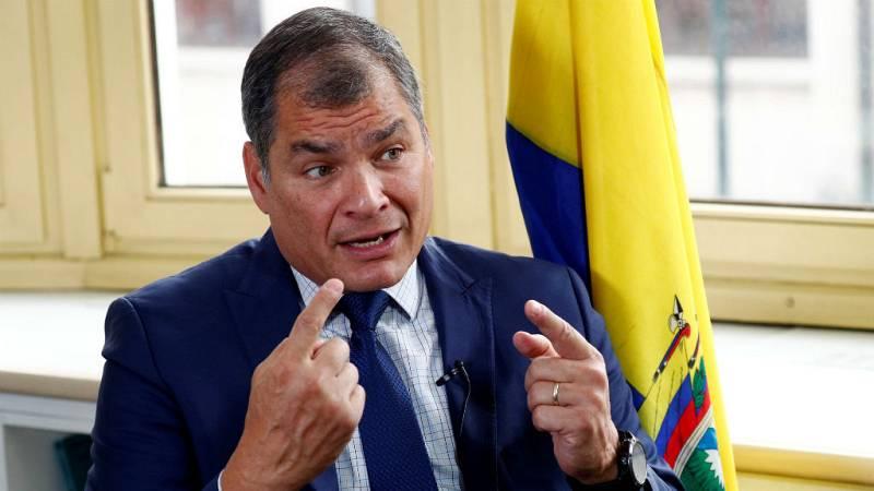 Boletines RNE - El expresidente de Ecuador Rafael Correa pide a Lenín Moreno que convoque elecciones - Escuchar ahora