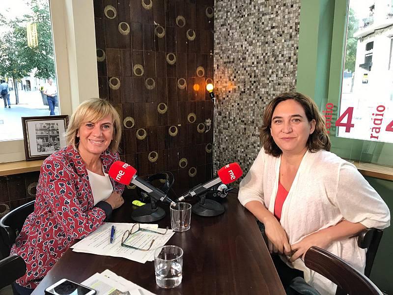 Gemma Nierga entrevista Ada Colau