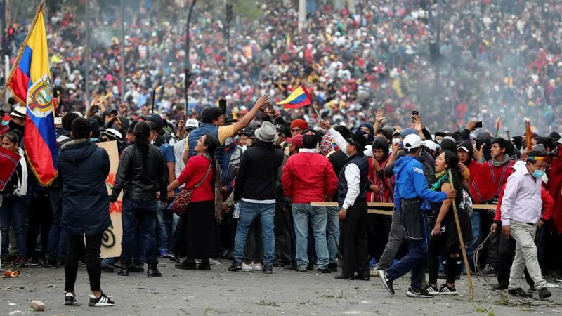 """Todo noticias mañana - Anna Ayuso: """"Moreno no es el primer Presidente de Ecuador que caería por los precios del combustible"""" - Escuchar ahora"""