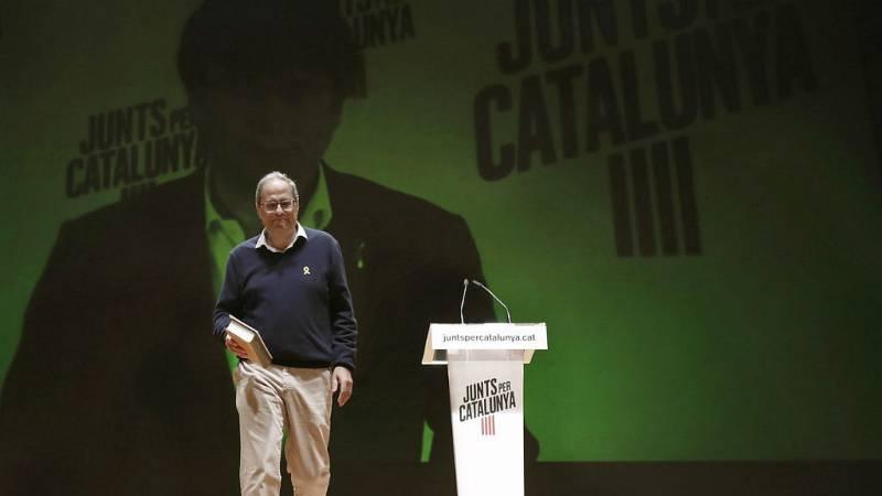 """14 horas fin de semana - Torra invita a los catalanes a manifestarse """"sin miedo"""" y """"pacíficamente"""" - Escuchar ahora"""