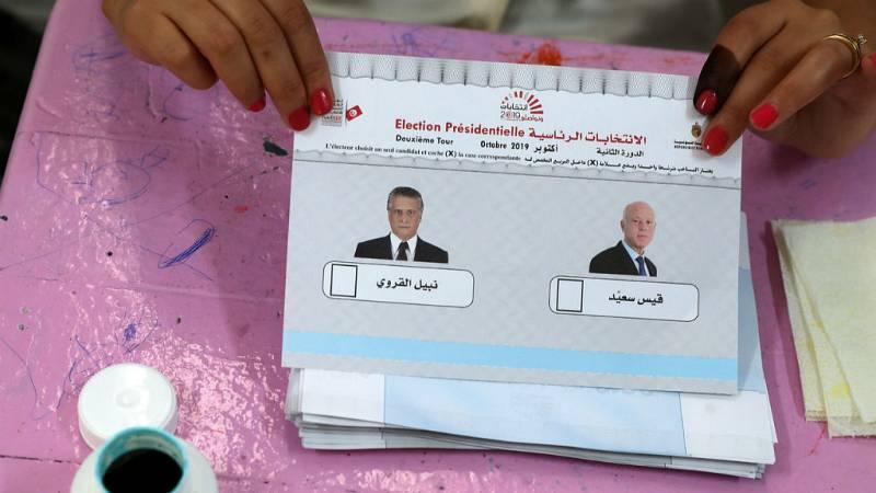 14 horas fin de semana - Un profesor universitario y un magnate se disputan la presidencia de Túnez - Escuchar ahora