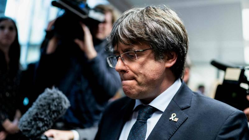 Boletines RNE - Puigdemont asegura que colaborará con la justicia belga - Escuchar ahora