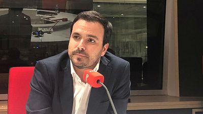"""24 horas - Alberto Garzón: """"Que haya gente en la cárcel no va a hacer que desaparezcan los independentistas"""" - Escuchara hora"""