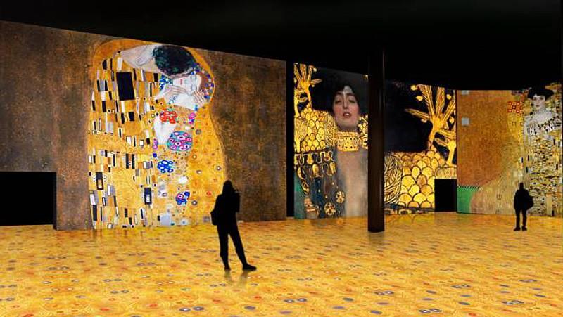 'El oro de Klimt' en el Pabellón de Navegación de Sevilla hasta el 15 de diciembre - Escuchar ahora