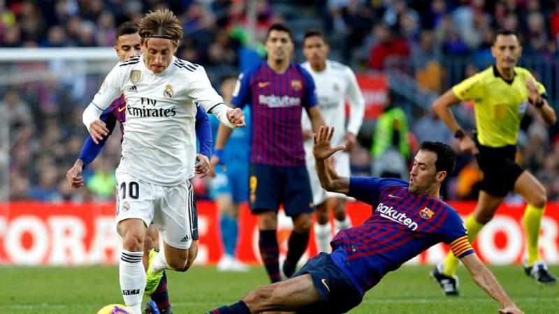 """14 horas - La Liga pide que el Clásico del 26-O sea en Madrid """"por causa de fuerza mayor"""" - Escuchar ahora"""