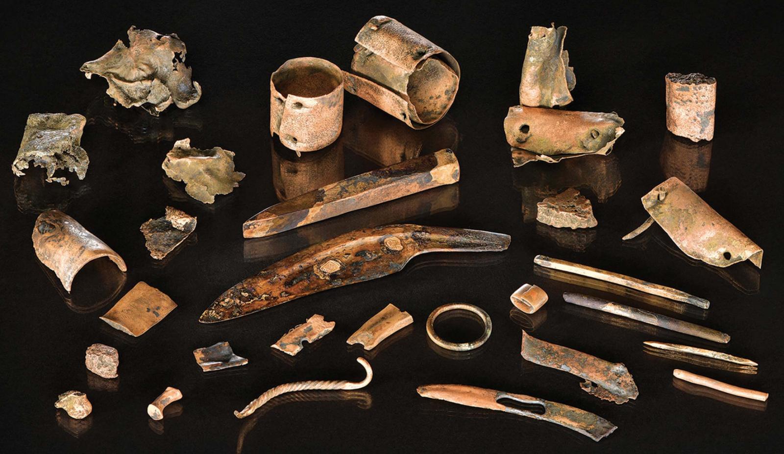 En algún lugar de la ciencia: La mochila de un guerrero en la Edad de Bronce - Escuchar ahora