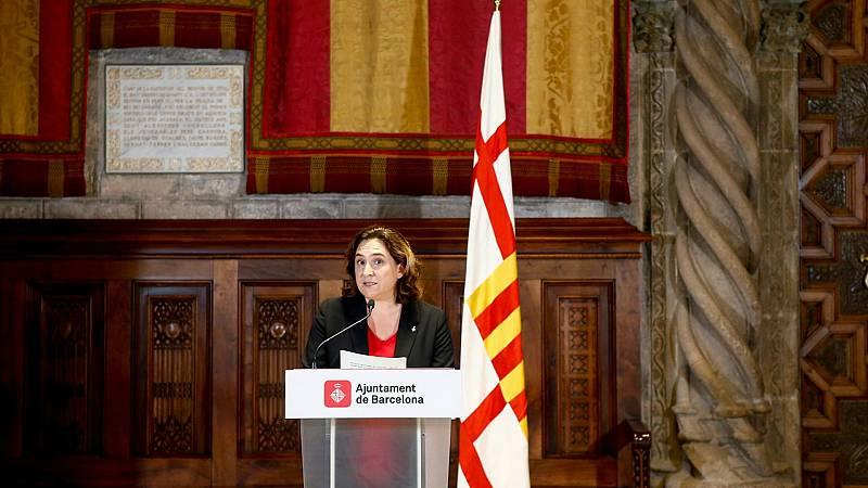 Boletines RNE - Colau insta a Sánchez y Torra a hablar con serenidad para buscar soluciones - Escuchar ahora
