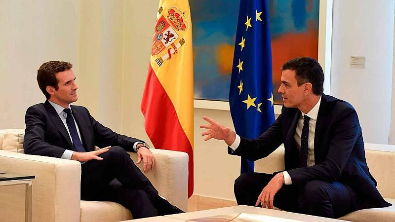 """Las mañanas de RNE con Íñigo Alfonso - El comentario de Soriano: """"¿Nuevo Pacto de El Pardo?"""" - 21/10/19 - Escuchar ahora"""