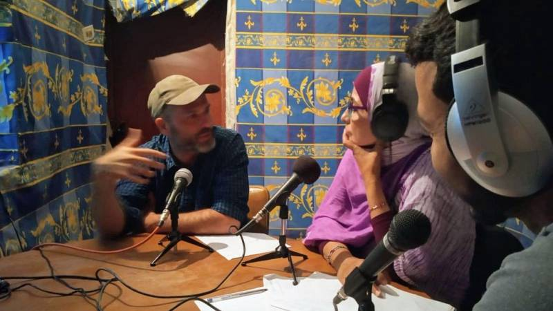 Oxiana - Xavier Aldekoa | Entrevista en Zemla Radio - Escuchar ahora