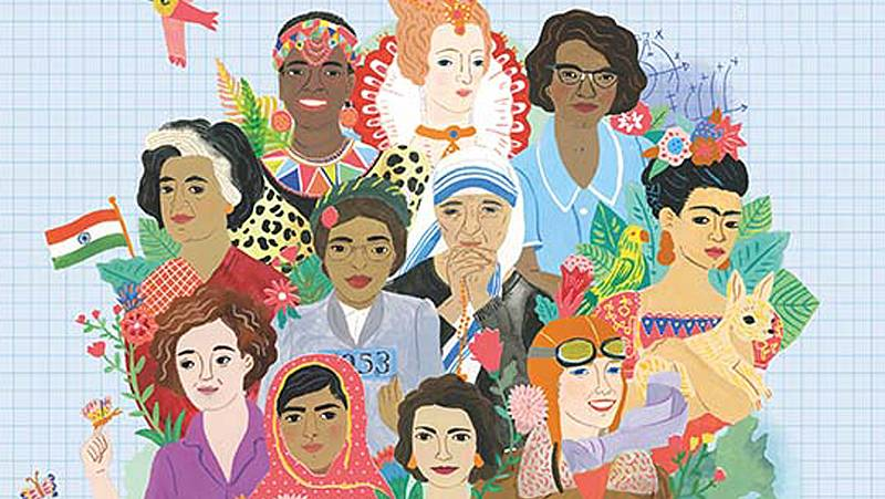 Artesfera - 'Ellas cuentan', una recopilación de 50 historias sobre mujeres y niñas que cambiaron el mundo - escuchar ahora